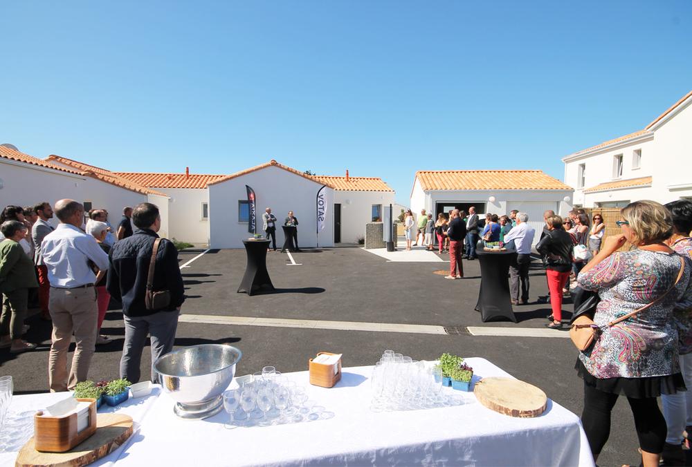 Inauguration Logis de Victorine 13.09.19 Groupe_SATOV